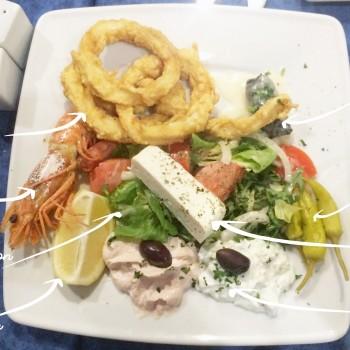 L'ile de Crête - Le restaurant Lillois qui nous aura fait voyager...