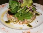 Photo Tartare de Bar et agrumes au couteau  - Le Trois-Quart