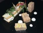 Photo Foie gras mi-cuit au Pineau, Anguille fumée  - LE DOMAINE DU SEUDRE