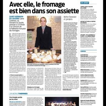 """Concours AFMR """"Assiette de Fromages"""" Sud Ouest"""