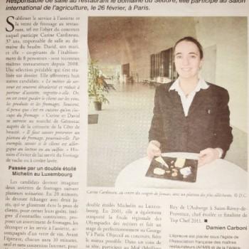 """Concours AFMR """"Assiette de Fromages"""" Haute Saintonge"""