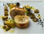 Photo Râble de Lapin farci aux Olives et Citron confit, déclinaison d'Aubergines et Gnocchis  - LE DOMAINE DU SEUDRE