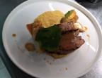 Photo Travers de porc façon barbecue, duo de maïs - LE DOMAINE DU SEUDRE