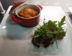 Photo Viande grillée, tian de légumes du soleil - LE DOMAINE DU SEUDRE