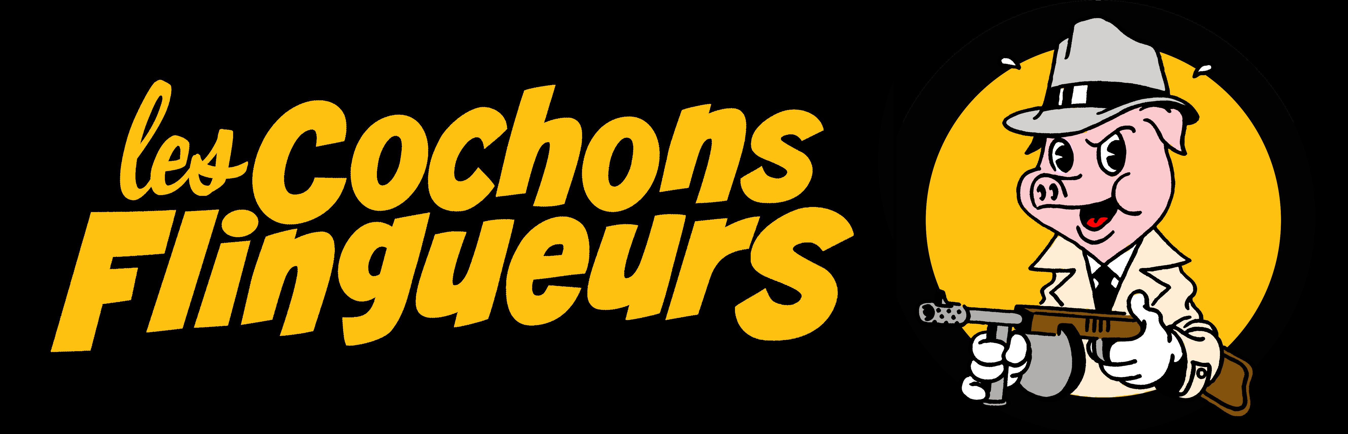 Logo Les Cochons Flingueurs