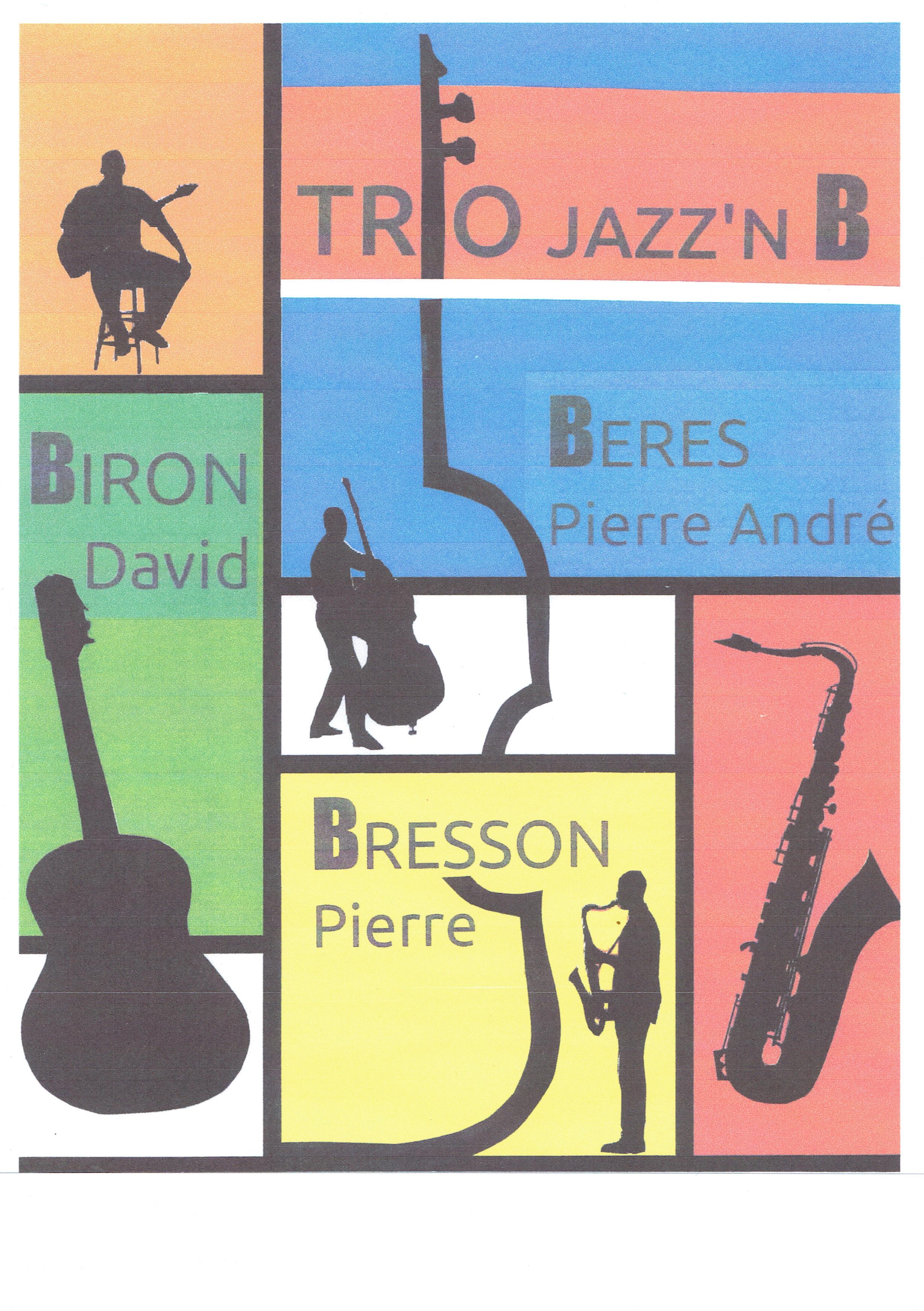 Trio JAZZ'NB en concert au Barrio le vendredi 19 mai
