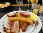 Photo Choucroute Paysanne et pommes de terre vapeur  - La Taverne de Metz