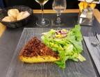 Photo Quiche Lorraine, beilagensalat - La Taverne de Metz