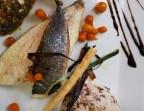 Photo Le Filet de Dorade Royale et sa sauce vierge  - La Taverne de Metz