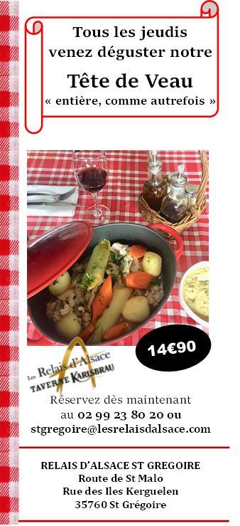 Tête de veau 14€90