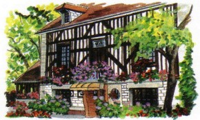 Photo of le restaurant et son parc
