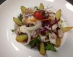 Photo Salade de poulpe tiède  - Restaurant la Gauloise