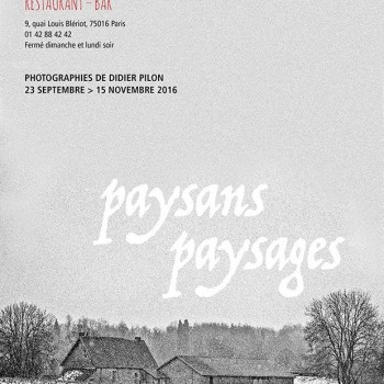 Vernissage paysans payasages Didier Pilon