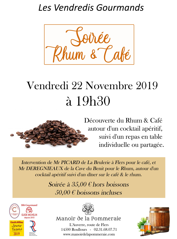 Soirée Rhum & Café