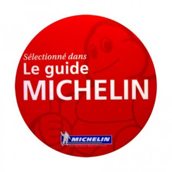 GUIDE MICHELIN 2018 - Assiette Michelin - Bon standing - Belle carte des vins