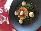 Photo Tartare de tomates, crémeux de féta, olives et pistaches - Le Bistrot d'Alex