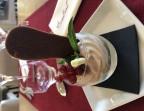 Photo Délice d'atomne, coing, crème de marron et ses éclats - Le Bistrot d'Alex