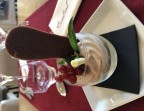 Photo Verrine d'automne, coing, crème de marron et ses éclats - Le Bistrot d'Alex