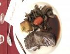 Photo Pièce de boeuf snackée, aubergines à la provençale - Le Bistrot d'Alex