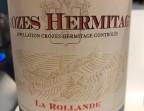 Photo Crozes-Hermitage AOP - Les Relais d'Alsace - Tours