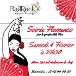 Soirée Flamenco au Barock's le Samedi 4 Février !