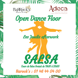 Afterwork Spécial Salsa avec ADECA