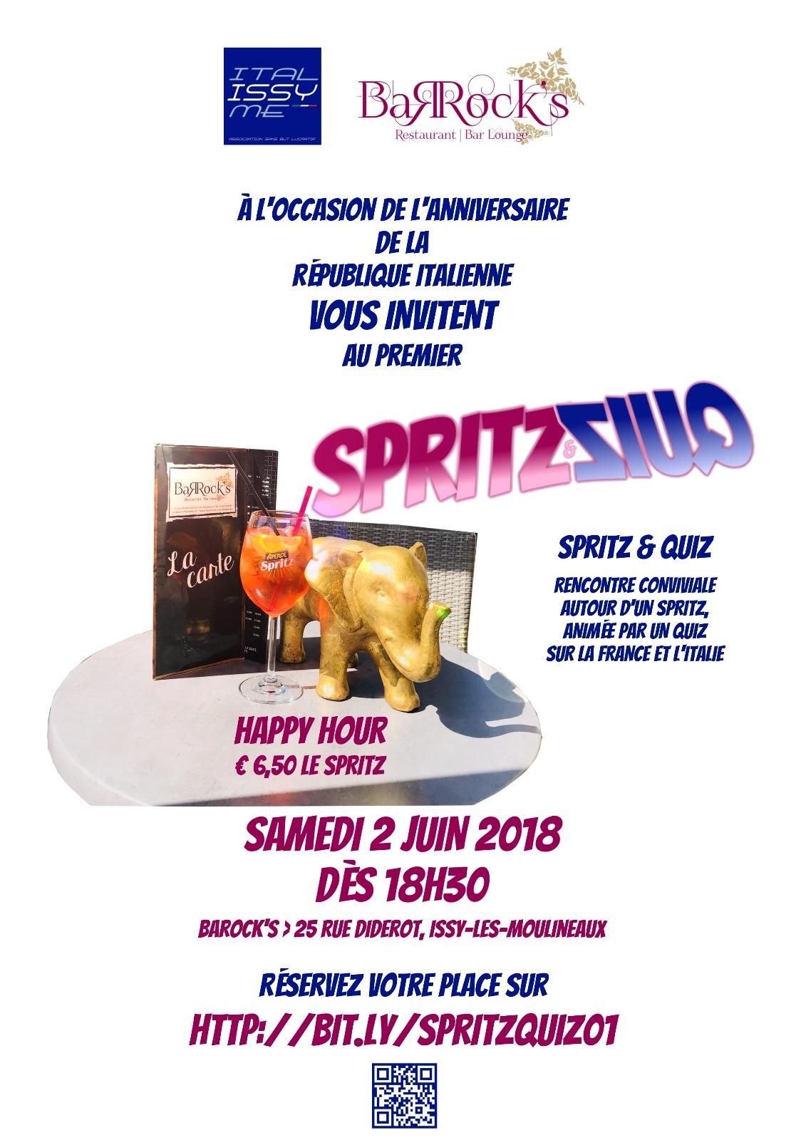 Spritz Quiz avec l'association