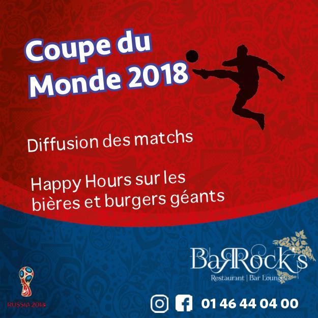 Coupe du Monde de Football au Barock's !
