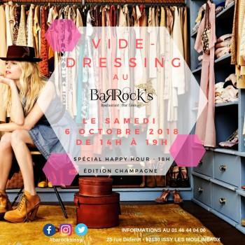 Vide dressing au Barock's