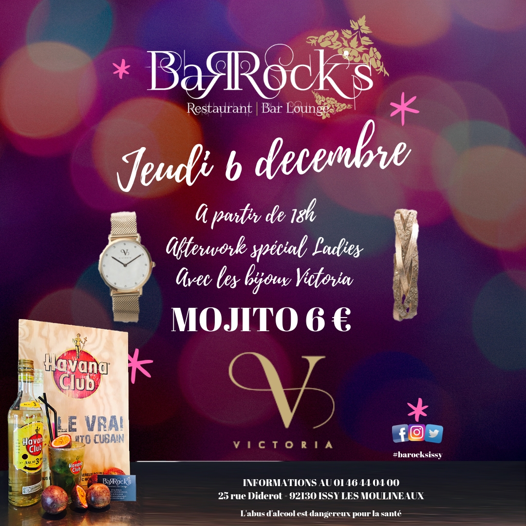 Afterwork Spécial Ladies - Vente de bijoux 'Victoria'