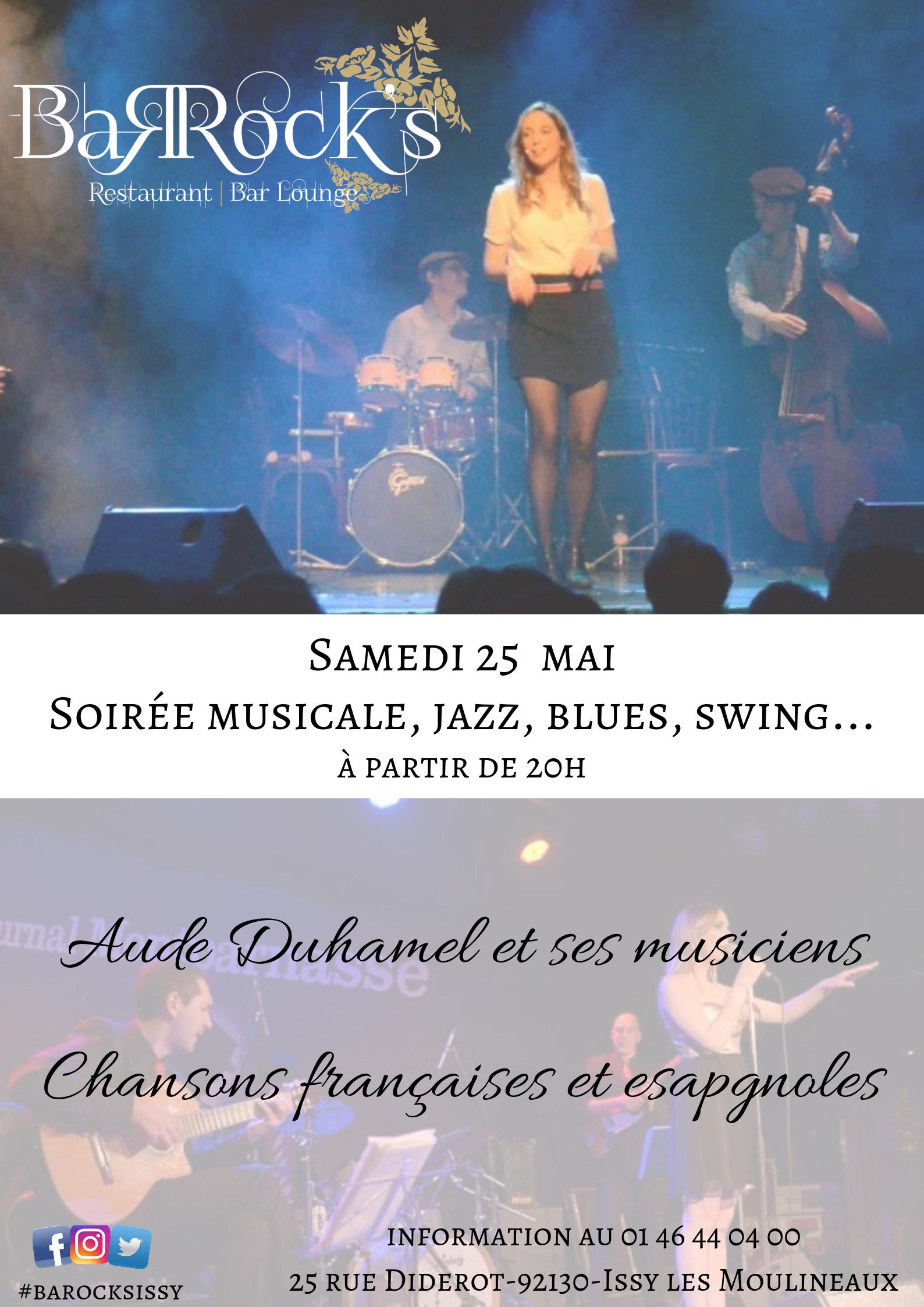 Aude Duhamel et ses musiciens