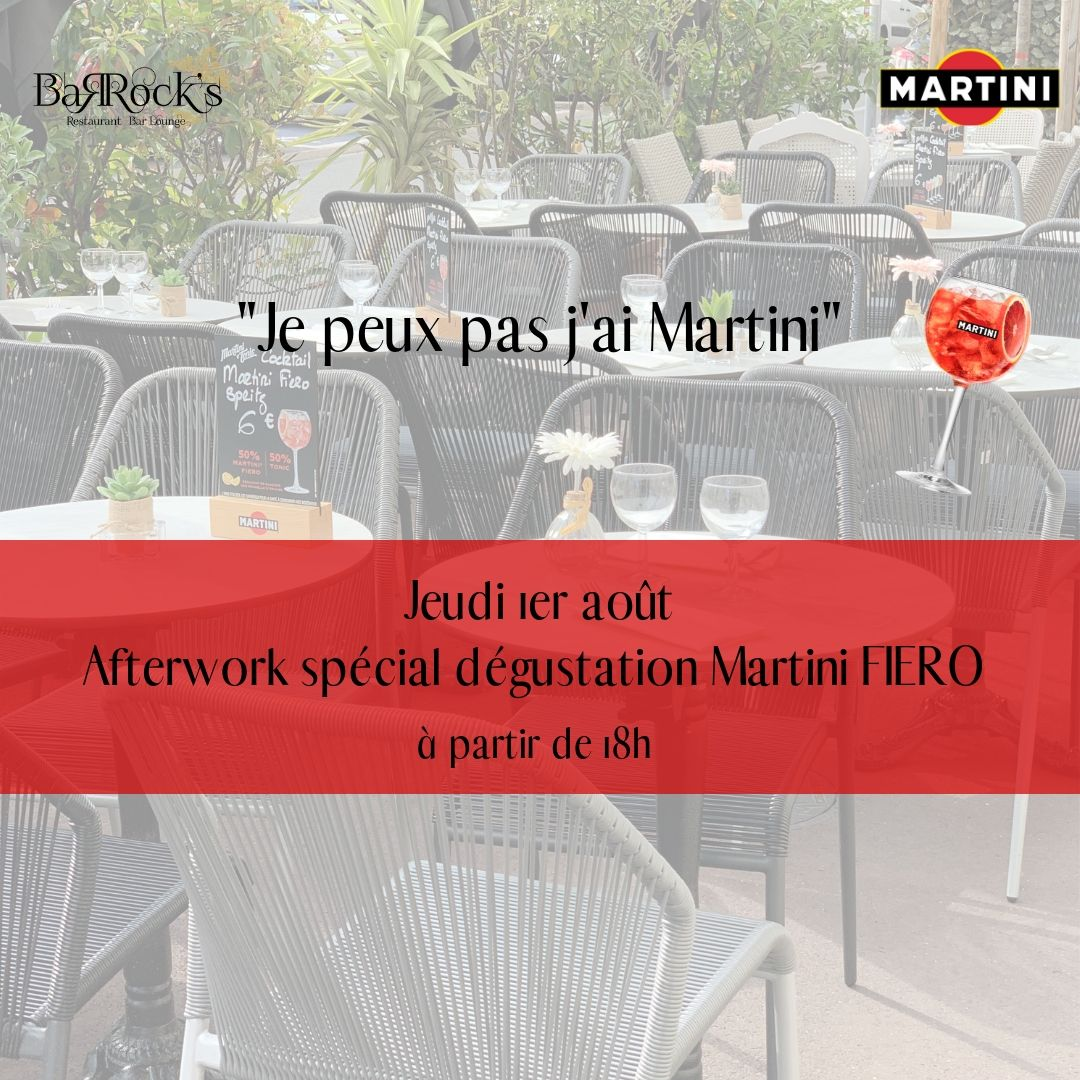 Afterwork Martini Fiero