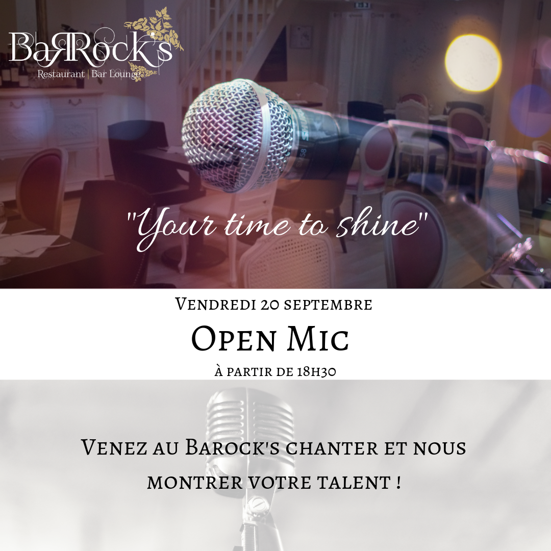 Open Mic au Barock's