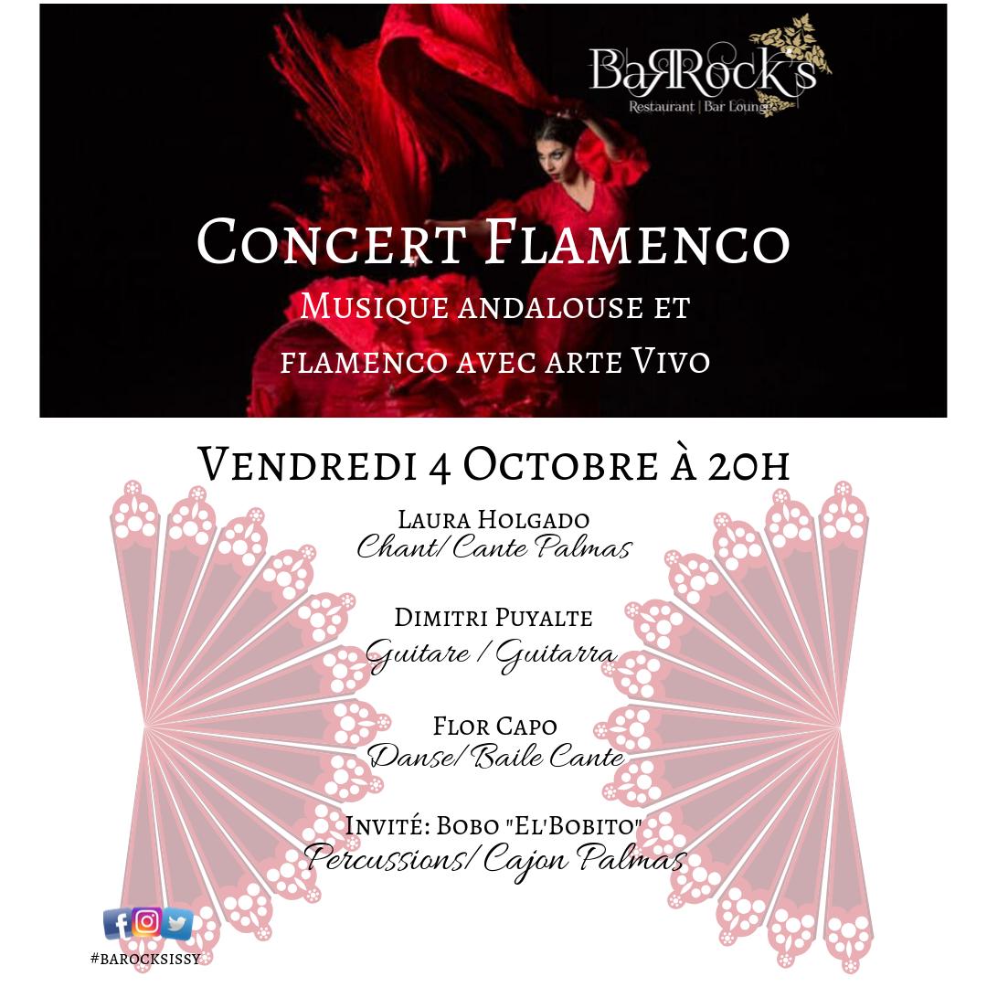 Concert Flamenco au Barock's