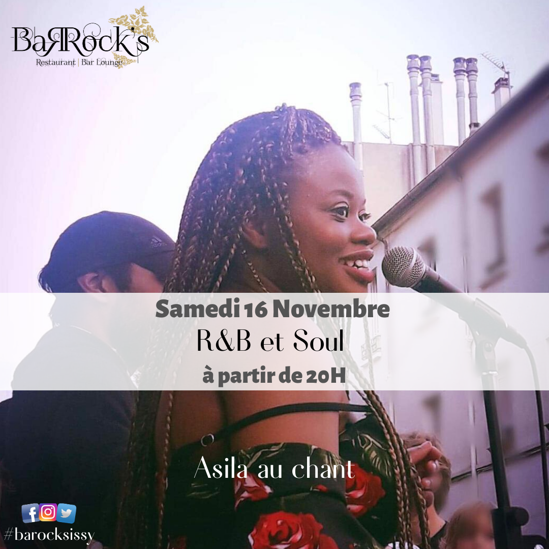 Concert R&B and Soul avec Asila