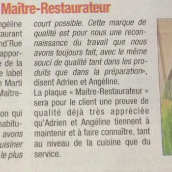 La Tribune du 5/11/2015
