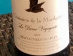 Photo La Dame Voyageuse 2018 Bio Chateauneuf du Pape - Chez Marti