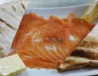 Photo Le saumon fumée par nos soins    - Ô BISTROT