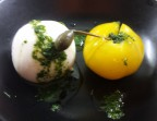 Photo Burrata et ses tomates au pistou  (végétarien) - Ô BISTROT
