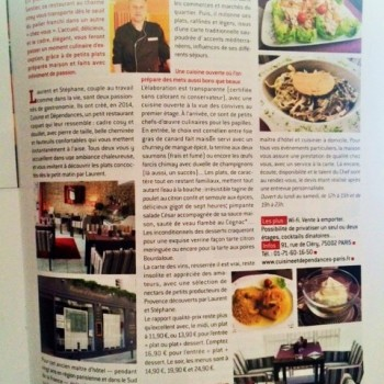 GAULT & MILLAU, L'expert gourmand JUILLET-AOUT 2015 - PARIS LE TOP DES RESTAURANTS