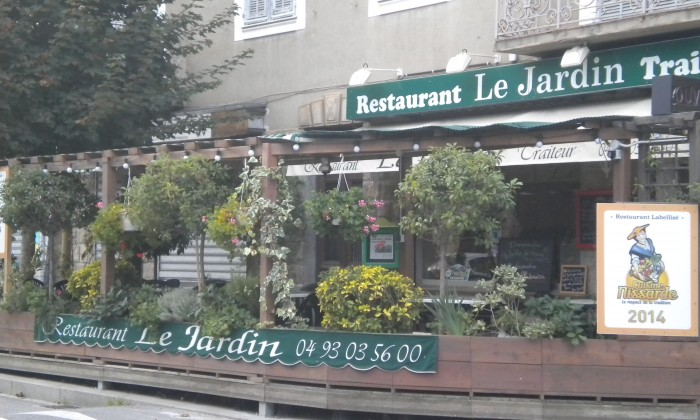 Restaurant le jardin restaurant traditionnel roquebilli re Le jardin restaurant