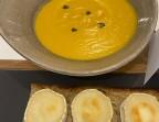 Photo Crème de potimarron, curry - La Véranda – La Terrasse