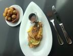 Photo RÔTISSOIRE | ¼ poulet fermier mariné, - Restaurant LA VÉRANDA