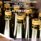 Soirée dégustation champagne Pol Roger