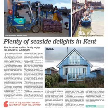 Plenty of seaside delight in Kent