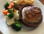 Photo Steak & Kidney Pudding - The Oyster Pearl