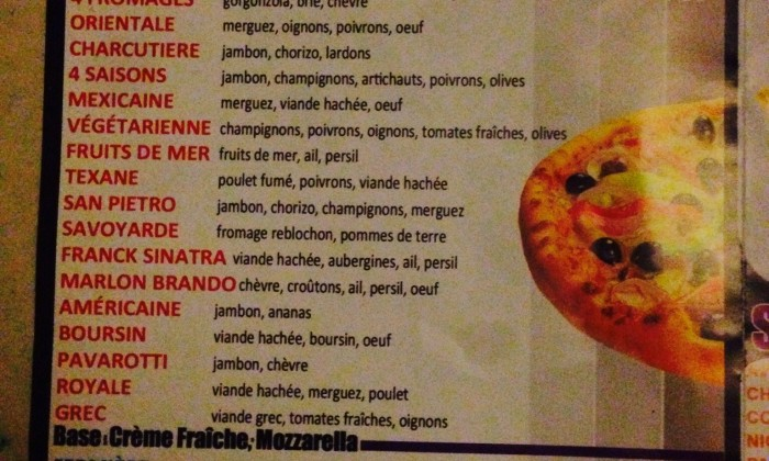 Photo PAPILLES PIZZA