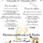 REVEILLON DU JOUR DE L'AN