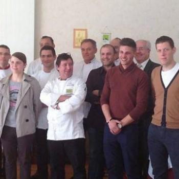Romuald Le Prado obtient la 3e place au concours de cuisinier