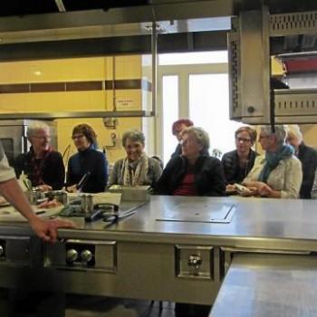 Un atelier cuisine assuré par La Rose Trémière